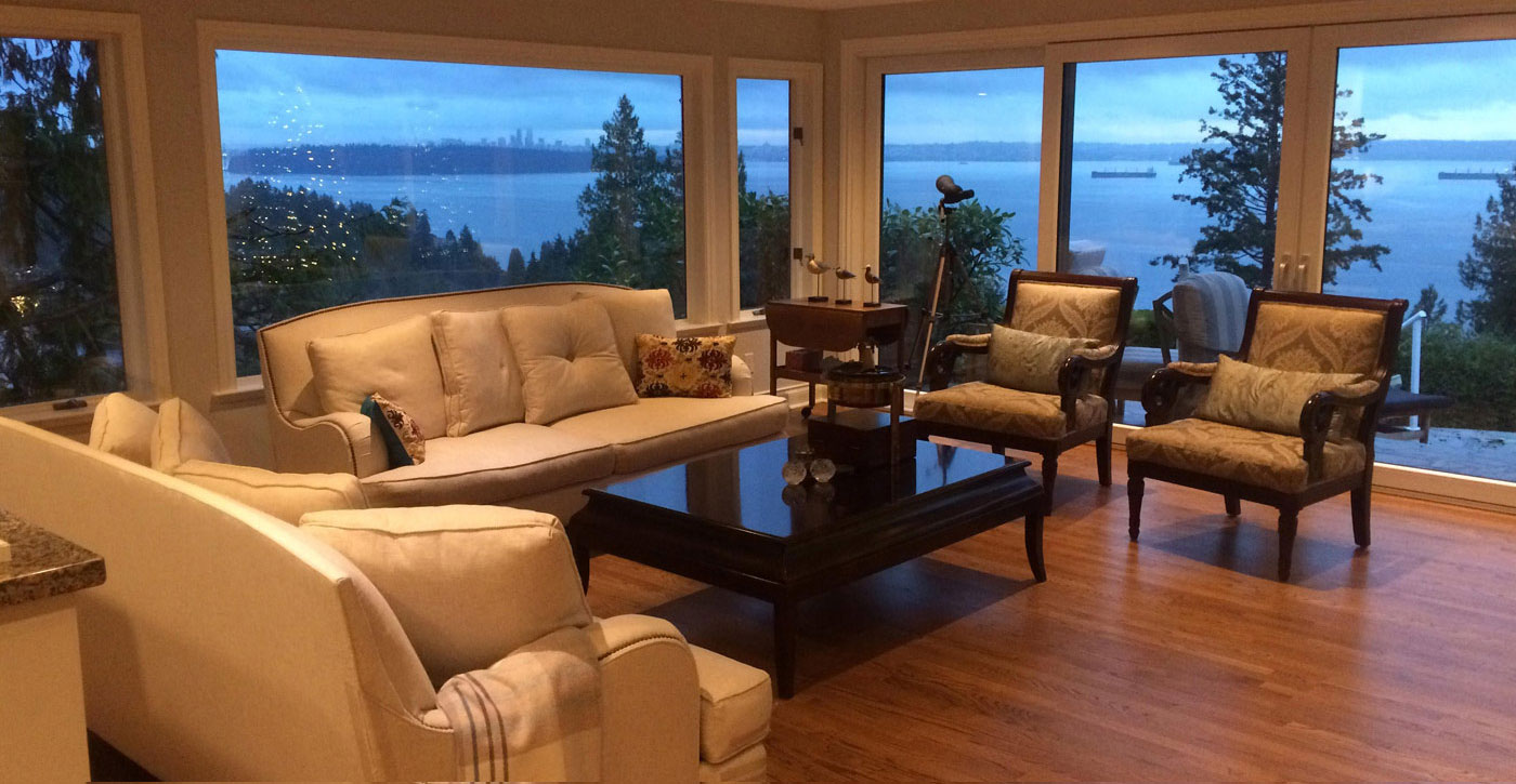 West Vancouver Living Spaces