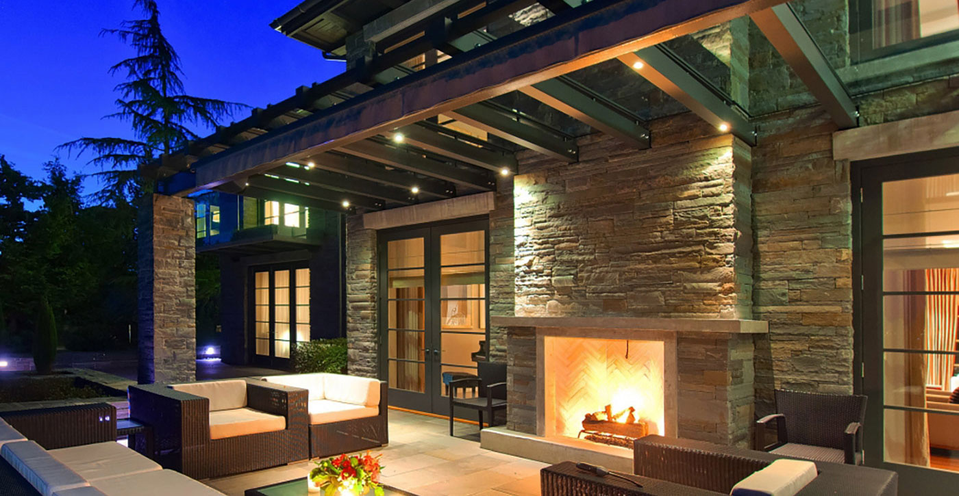 West Vancouver Outdoor Living Space