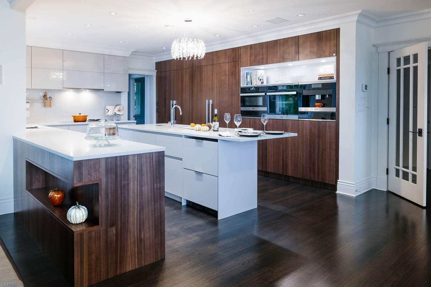Dark Wood Kitchen Renovation