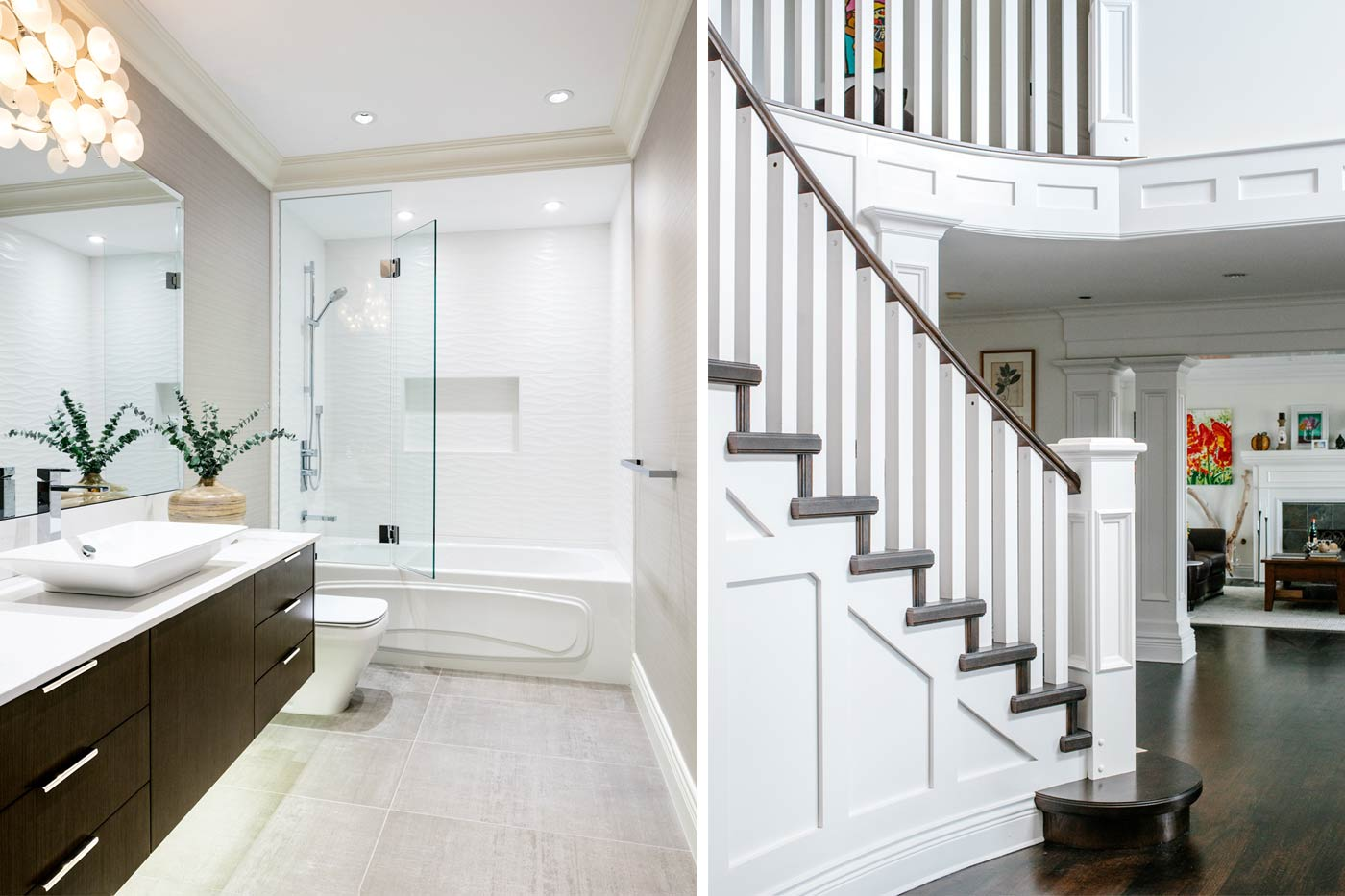 Staircase and Bathroom Renovation