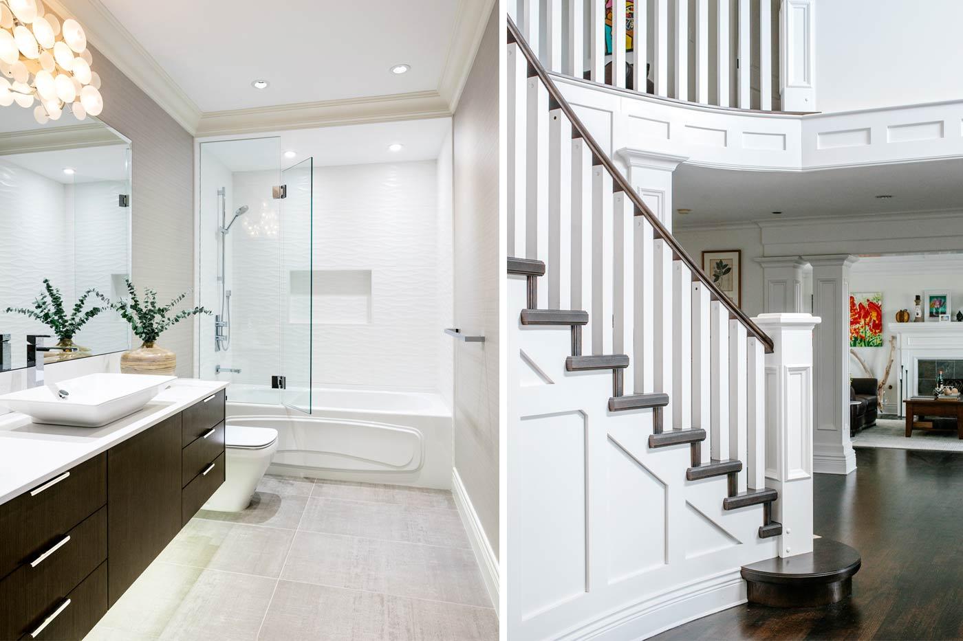 Staircase and Bathroom Renovation